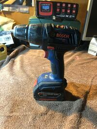 Bosch regular driver drill. 18 v comes with a battery but has no charger Antioch, 94509