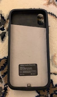 iPhone X/XS back up charger case 페어팩스, 22033