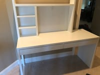 IKEA sturdy white student desk  Woodbridge, 22192