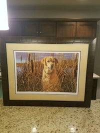 Marsh Ranger print 1291 of 2300 Signed Madison, 53718