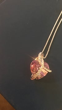 gold-colored heart pendant necklace Broadview Heights, 44147