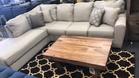 BIGSALE sectional with chaise accent pillows included  Jacksonville, 32246