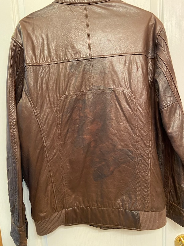 REAL LEATHER TROY LEE DESIGNS JACKET GREAT QUALITY VERY SOFT e91d644e-58a8-4112-87a7-6b6f543345f3