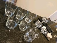 Glass and Metal Candle Holders $15 Edmonton, T5P 3M7