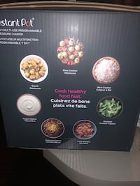Brand new instant pot! Can't make everything from yogurt to rice!  Orono, 04473