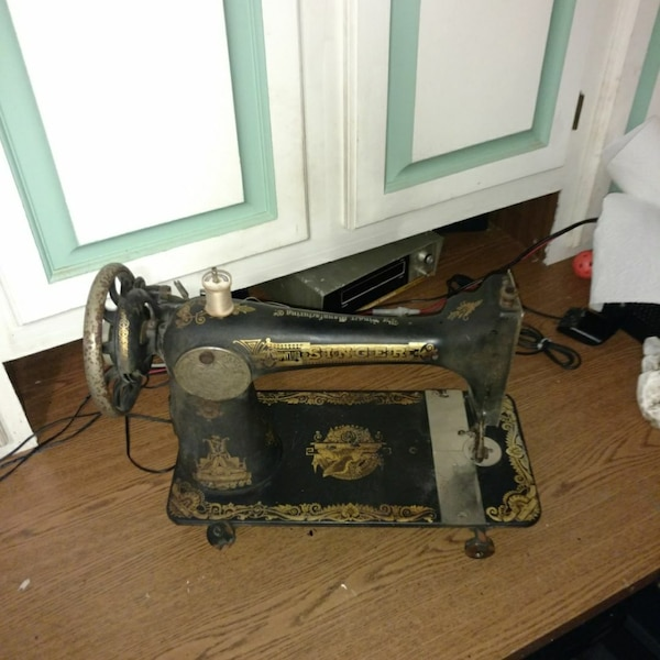 Used 40 Singer Sewing Machine For Sale In Fort Worth Letgo Gorgeous 1910 Singer Sewing Machine For Sale