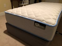 Twin Mattress & Box Spring - almost new Falls Church, 22311
