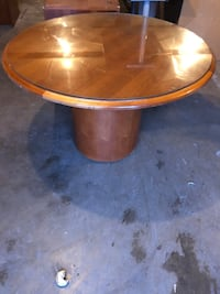 "48"" commercial Round Table solid wood (kitchen /poker table / office)"