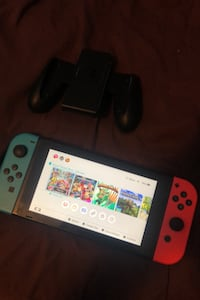 Nintendo switch with extra accessories and games Brampton, L6T 3M1