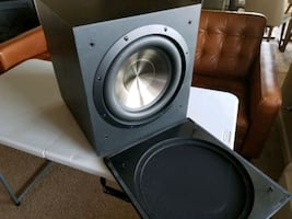"""BIC Subwoofer 12"""" Self-Powered Home Theater Sub"""