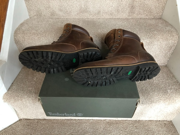 Timberland RARE Leather brown size 12 1accc007-49f5-4504-9775-a317269855b2