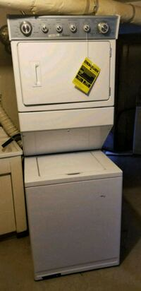 white top-load clothes washer/ dryer Brooklyn, 11229