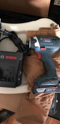 Bosch impact drill with battery and charger  Falls Church, 22044