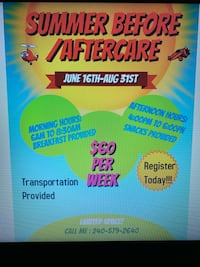 Summer Before And Aftercare  Upper Marlboro