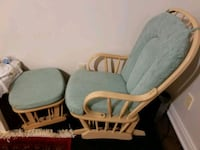 Gliding chair and ottoman  Toronto, M1W 2R8