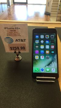 AT&T iPhone 6S+ 16GB Fleming Island, 32003