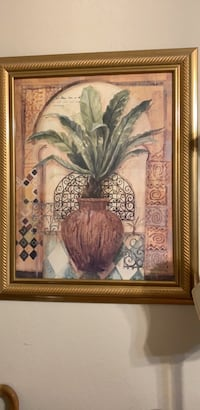Palm in Pot print Norman, 73071