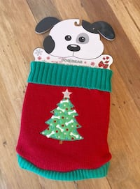BRAND NEW! Holiday Christmas Sweater Dog Pet Gear - Size Small
