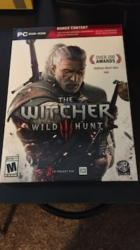 The Witcher Wild Hunt PS4 game case