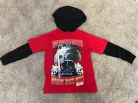 Boys Star Wars Angry Birds Shirt with Hood, Excellent Condition, Size 8 Manassas, 20112