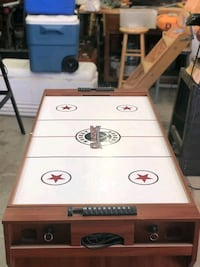 multi game table. billiards and air hockey.