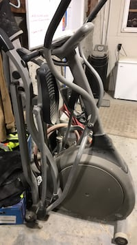 gray and black elliptical trainer Winnipeg, R3C 2Y1