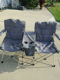 2 person foldable camping chair Lapeer County, 48371