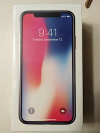 Iphone X 256gb BNIB Surrey, V3V 6E9