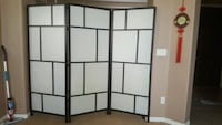 brown and white wooden room divider Las Vegas, 89178