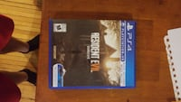 Sony PS4 Resident Evil Biohazard Welland, L3C 2H6