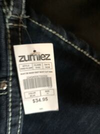 NEW TAGS ALMOST FAMOUS LADIES SIZE 13 BOOTCUT JEANS Rochelle, 61068