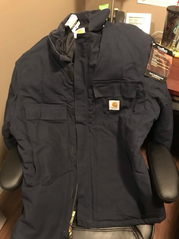 BNWT men's carhartt arctic lined work jacket