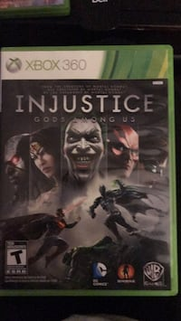 Xbox 360 Injustice Gods Among Us case Barrie, L4N 0A5