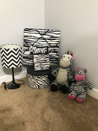 Zebra decorating set