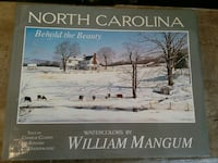 North Carolina book signed by watercolor artist ma Woodstock, 22664