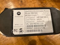 Motorola - 16 x 4 DOCSIS 3.0 Cable Modem  Lake Ridge, 22192