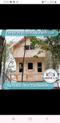 Win a free bunkie !