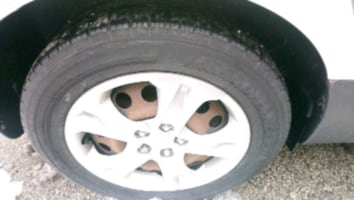 Tires in good condition asking $180 all 4