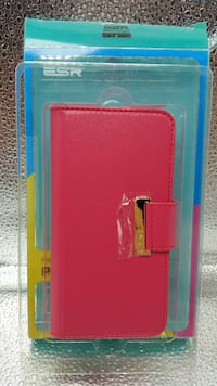 ESR Iphone 6 Wallet Case (Rosy Red) Eastvale