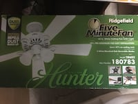 "Hunter 44"" Ceiling Fan w/light Salina, 67401"