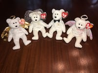 Ty Beanie Babies Bride and Groom with Angels Colorado Springs, 80907