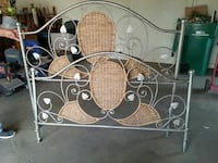 stainless steel headboard with foot board