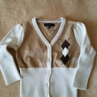NEW, TOMMY HILFIGER CARDIGAN, SIZE 9-12 MONTHS Montreal