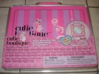 BRAND NEW Cutie Boutique Mega Makeover Set w/Carry Case! Edmonton