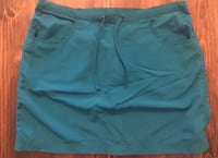 L.L bean turquoise outdoor hiking skirt size small Oklahoma City, 73145