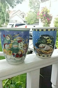 Set of 2 Super Cute Christmas Mugs Toronto, M9C