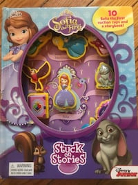 Sophia the First suction cup story book Arlington, 22203