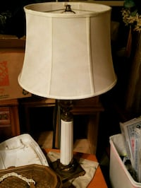 "antique table lamp 35"" high"