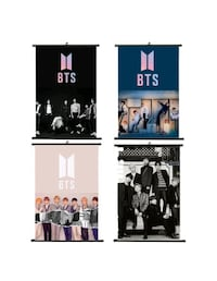 BTS hanging posters Fresno, 93726
