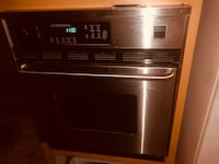 stainless steel and black induction range oven Surrey, V4N